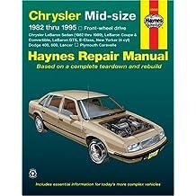 Haynes Chrysler Mid-Size Cars Repair Manual, 1982-1995