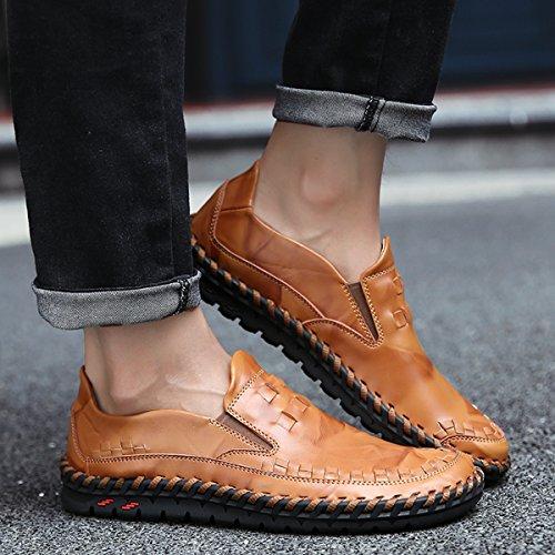 Miyoopark ,  Herren Sneaker Low-Tops Style1-Brown