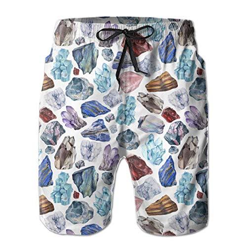Wwoman Pantalones Cortos Playa Secado rápido sin