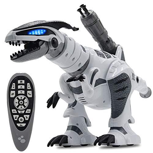 Ocamo Juguete Robot teledirigido eléctrico del Modelo del Dinosaurio Inteligente de los niños RC mecánico con el Juguete Ligero de la música