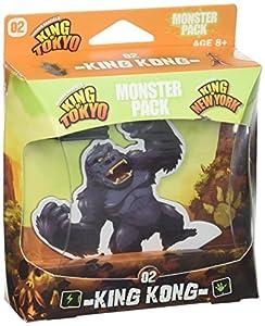 Unbekannt Iello IEL51421 King of Tokyo Monster - Juego de construcción de Monstruos