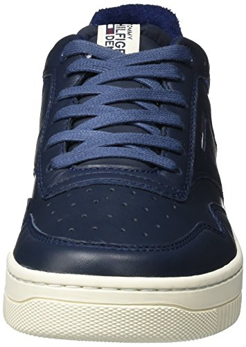 Hilfiger Denim Herren P2385layer 2a Sneaker Schwarz (Ink)