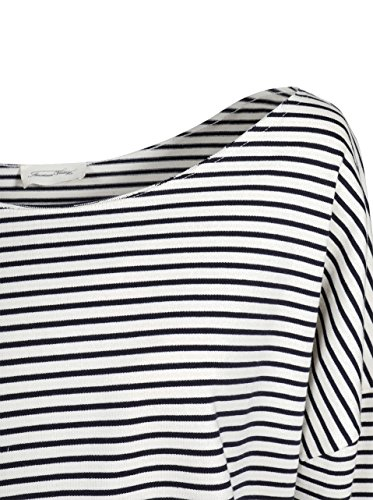AMERICAN VINTAGE Damen Sweatshirt Rico gestreift ecru-navy ecru stripes navy