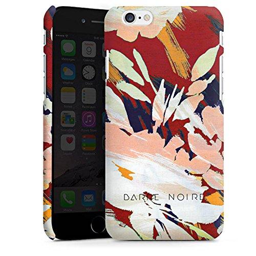 Apple iPhone X Silikon Hülle Case Schutzhülle Blumen Muster Blume Premium Case matt