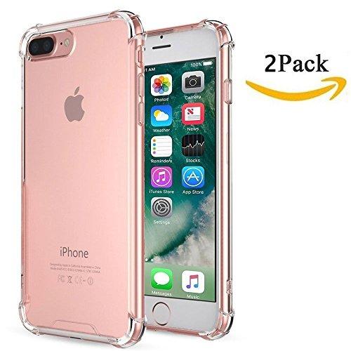 iPhone 7Plus Fall ibarbe Klar Kissen stoßabsorbierendem TPU Bumper Fall Flexibel Slim Anti-Slippery Kratzfest Fortschrittliche Gel-Bumper für iPhone 7Plus
