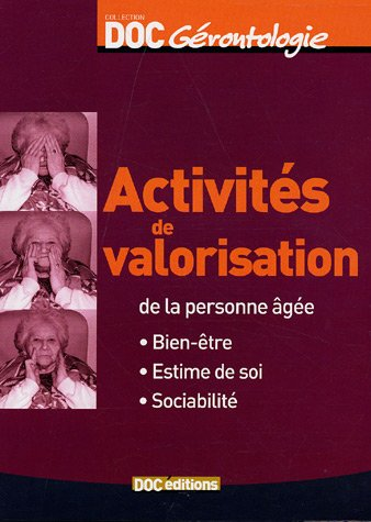 Activités de valorisation de la personn...