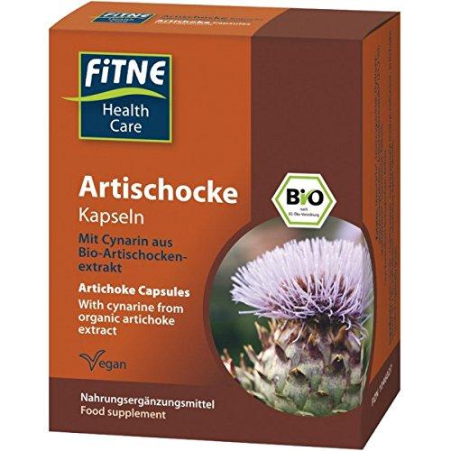 FITNE Artischocken-Kapseln (18 g) - Bio
