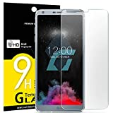 Verre Trempé LG G6, NEWC® Film Protection en Verre trempé écran Protecteur vitre ANTI RAYURES SANS BULLES D'AIR Ultra Résistant Dureté 9H Protector pour LG G6