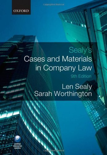 sealys-cases-and-materials-in-company-law-9th-edition-by-sealy-len-worthington-sarah-2010-paperback