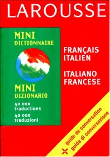 Mini dictionnaire français-italien, italien-français par Collectif