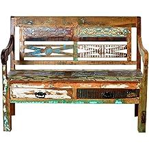 SIT-Möbel 9120-98 Bank Brettsitz mit 2 Schubladen, 120 x 50 x 95 cm