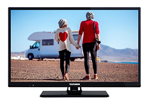 Telefunken XH24D101V 61 cm (24 Zoll) Fernseher (HD ready, Triple-Tuner, 12V)