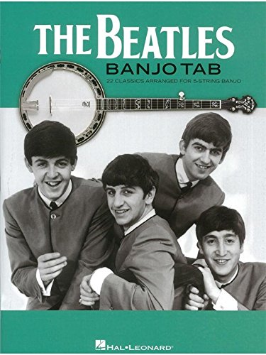 The Beatles Banjo Tab: 22 Classics Arranged For 5-String Banjo. Partitions pour Banjo, Paroles Seulement
