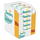Pampers Sensitive Feuchttücher, 1008 Tücher,...