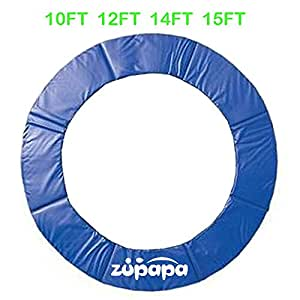 Zupapa Trampoline Replacement Surround Spring Cover Padding Pad 8FT Blue