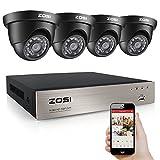 Best Caméras Zosi - ZOSI AHD 8CH 720P Vidéo DVR 4 Caméras Review