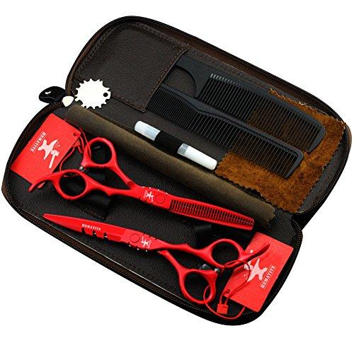 Juego tijeras japonesas peluquería 5.5 pulgadas peluquería