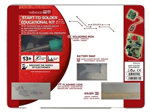HQ SOLDERING Kits de aprendizaje y conjunto de componentes 839005 Kit – EDU03