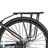 HECHEN Fahrradständer-Bergauto-Scheibenbremsen V-Bremse hinteres Regal - alle Aluminiumlegierungen können das Regal der Leute tragen,B