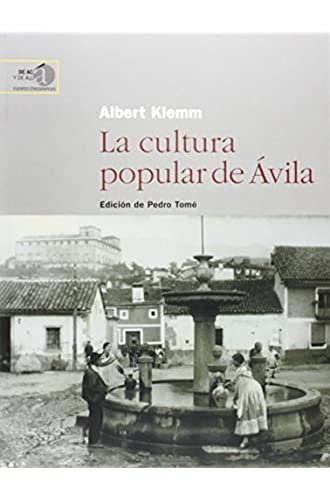 La Cultura Popular De Ávila