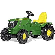 Rolly Toys 601066 - Trattore a Pedali Farmtrac John Deere 6210R