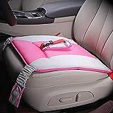 KSell, Cinturón para Embarazada de Seguridad en el Coche que Protege al Bebé y la Mamá Evitando el Riesgo Cinturón de Seguridad Ajustable para Mujer Protector, Rosado