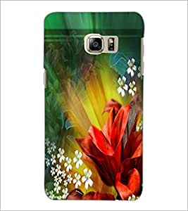 PrintDhaba Flowers D-2290 Back Case Cover for SAMSUNG GALAXY NOTE 5 (Multi-Coloured)