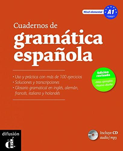 Cuadernos de gramática española A1 + CD audio MP3 - Nueva ed. por Emilia Conejo