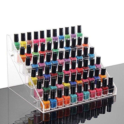 Verkaufsständer für Nagellack, Aufbewahrungsbox für Nagellack Lippenstift Set Nagellack Halterung...