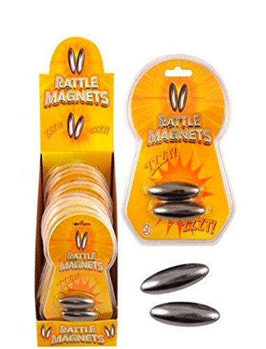 Spaß Zubehör Rasseln Partei-füller Räuber Buzz Drehen Magnete 2 Rassel Magnet - Rassel Magnete, One Size