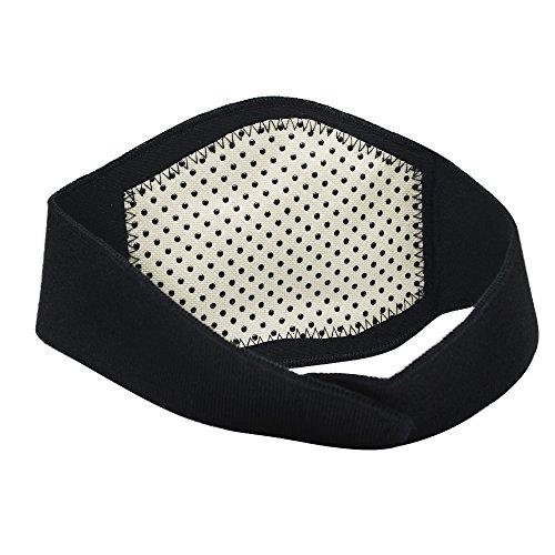 Homgaty selbst Heizung Neck Brace Unterstützung Nacken-Kopfschmerzen Relief verstellbares Halsband Zugentlastung Gurt (Pain Relief Migräne)