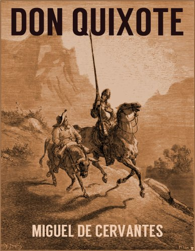 DON QUIXOTE (illustrated, unabridged) par MIGUEL DE CERVANTES