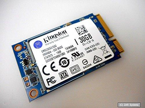 Preisvergleich Produktbild Kingston SSDNow 30GB Interne SSD-Festplatte mSATA mS200 SATA 6Gb/s, SMS200S3/30G