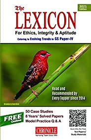 Lexicon for Ethics, Integrity & Aptitude for IAS General Studies - 7/edition,