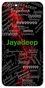 Jayadeep (Light Of Victory) Name & Sign Printed All over customize & Personalized!! Protective back cover for your Smart Phone : Samsung Galaxy E-7