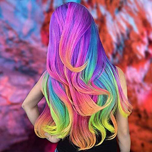 Haarkreide Geburtstagsgeschenk für Mädchen - 10 bunte Haarkreide Kamm Set Waschbare Farbe für Kinder Haarfärben Party, Cosplay