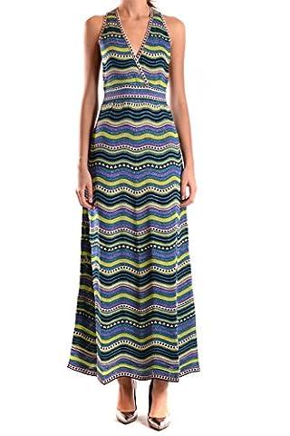 Missoni Damen Kd0kd11s23ca47 Multicolour Polyamid Kleid (Missoni Multi Color)