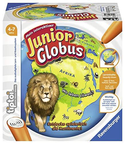 tiptoi® Mein interaktiver Junior Globus: Entdecke spielerisch die Kontinente!