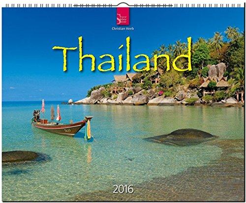 Thailand 2016: Original Stürtz-Kalender - Großformat-Kalender 60 x 48 cm [Spiralbindung] (Thong Französisch)