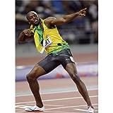 Usain Bolt Poster On Silk <60cm x 81cm, 24inch x 33inch> - Cartel de Seda - 1BF109