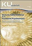 Kodierrichtlinien für die Psychiatrie/Psychosomatik 2018: KU Sonderheft