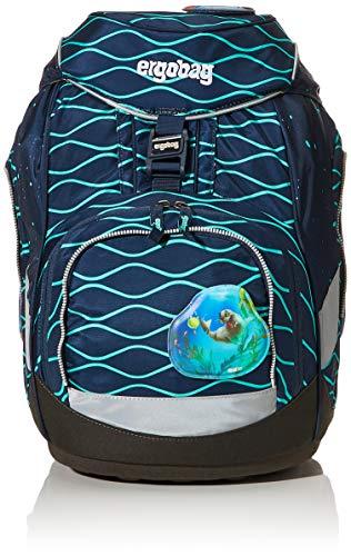 ergobag Unisex-Kinder Pack-Set Rucksack Mehrfarbig (Bubblebear)