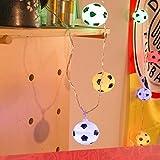 gaddrt Zwei Meter Fußball Lichter mit 20LED Lampe Perlen Atmosphäre zu schaffen Beleuchtung (A)