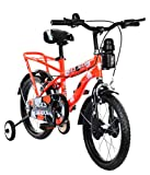 #8: MAD MAXX Steel Kids Humber 16T Road Cycle, 16 inches (Neon Red) For 4 to 6 years Child