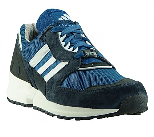 ADIDAS Schuhe Equipment Running Cushion Sneaker Dunkelblau/Petrol/Wei