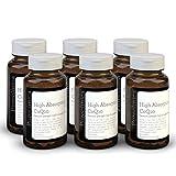 CoQ10 300mg x 540 compresse (6 bottiglie da 90 compresse ciascuna - 18 mesi di scorta). Con la Vitamina C ed estratto di pepe nero. SKU: CQ3x6
