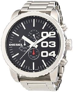 Reloj Diesel DZ4209 de cuarzo para hombre con correa de acero inoxidable, color negro de Diesel