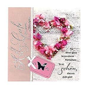 Depesche 4907.036Tarjeta de felicitación Emotions en diseño Elegante, cumpleaños