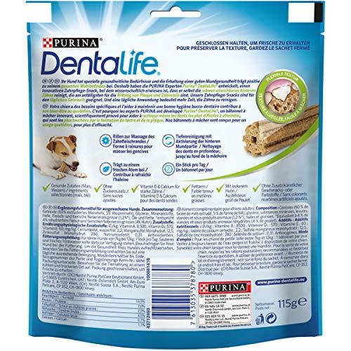 Purina DentaLife Mini Tägliche Zahnpflege-Snacks für kleine Hunde, 5er Pack (5 x 115 g) - 2