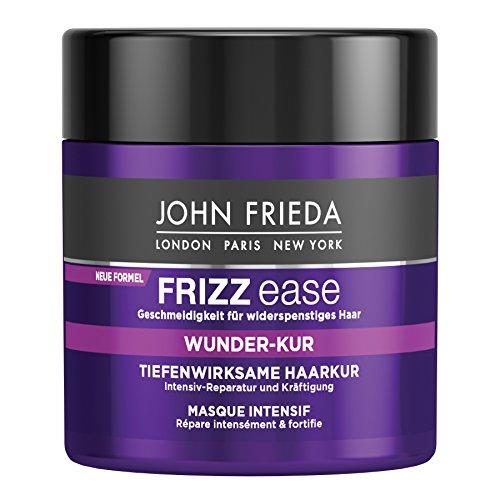 John Frieda Frizz Ease Wunderkur Tiefenwirksame Haarkur, 2er Pack (2 x 150 ml)